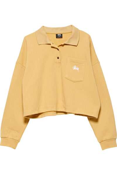 Graffiti Pocket Fleece Polo - R8gzwear
