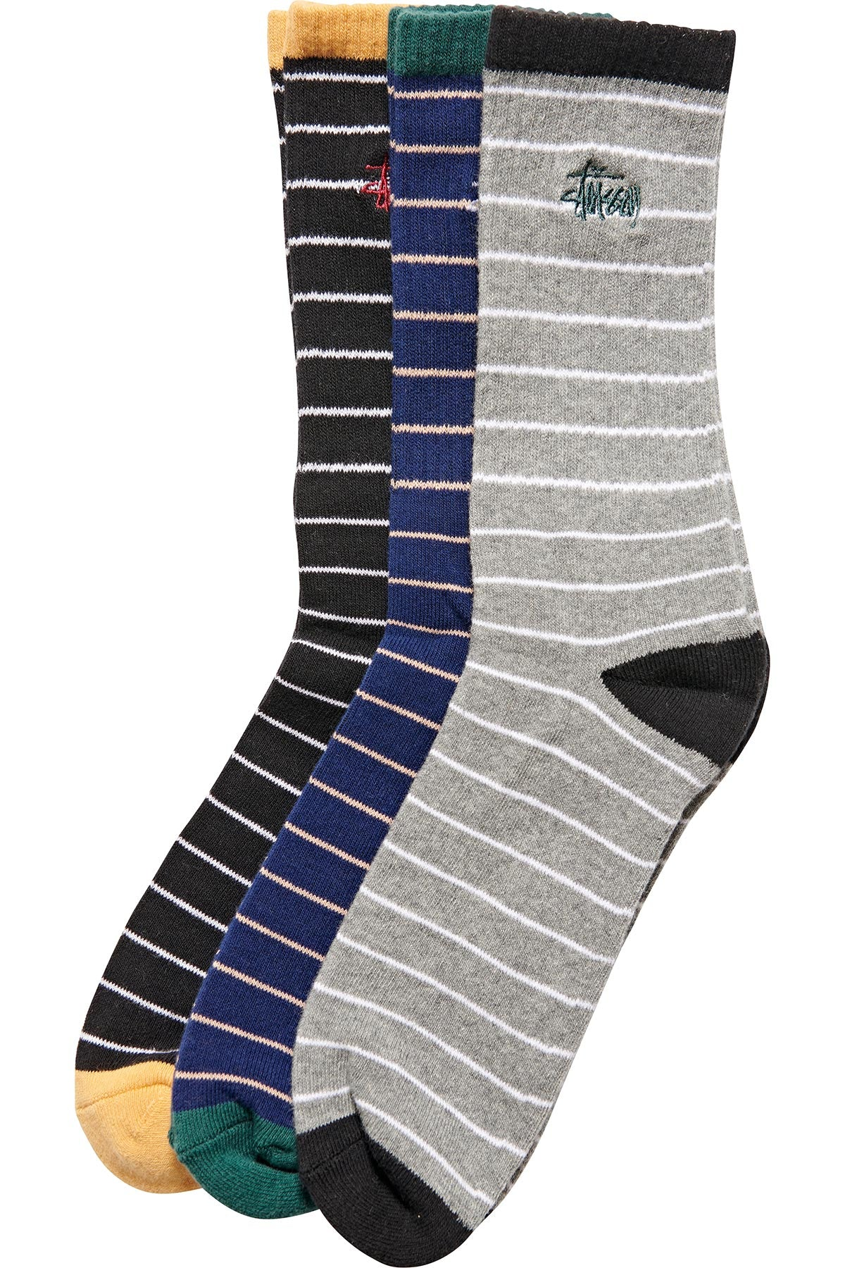 Graffiti Stripe Sock (3 Pack) - R8gzwear