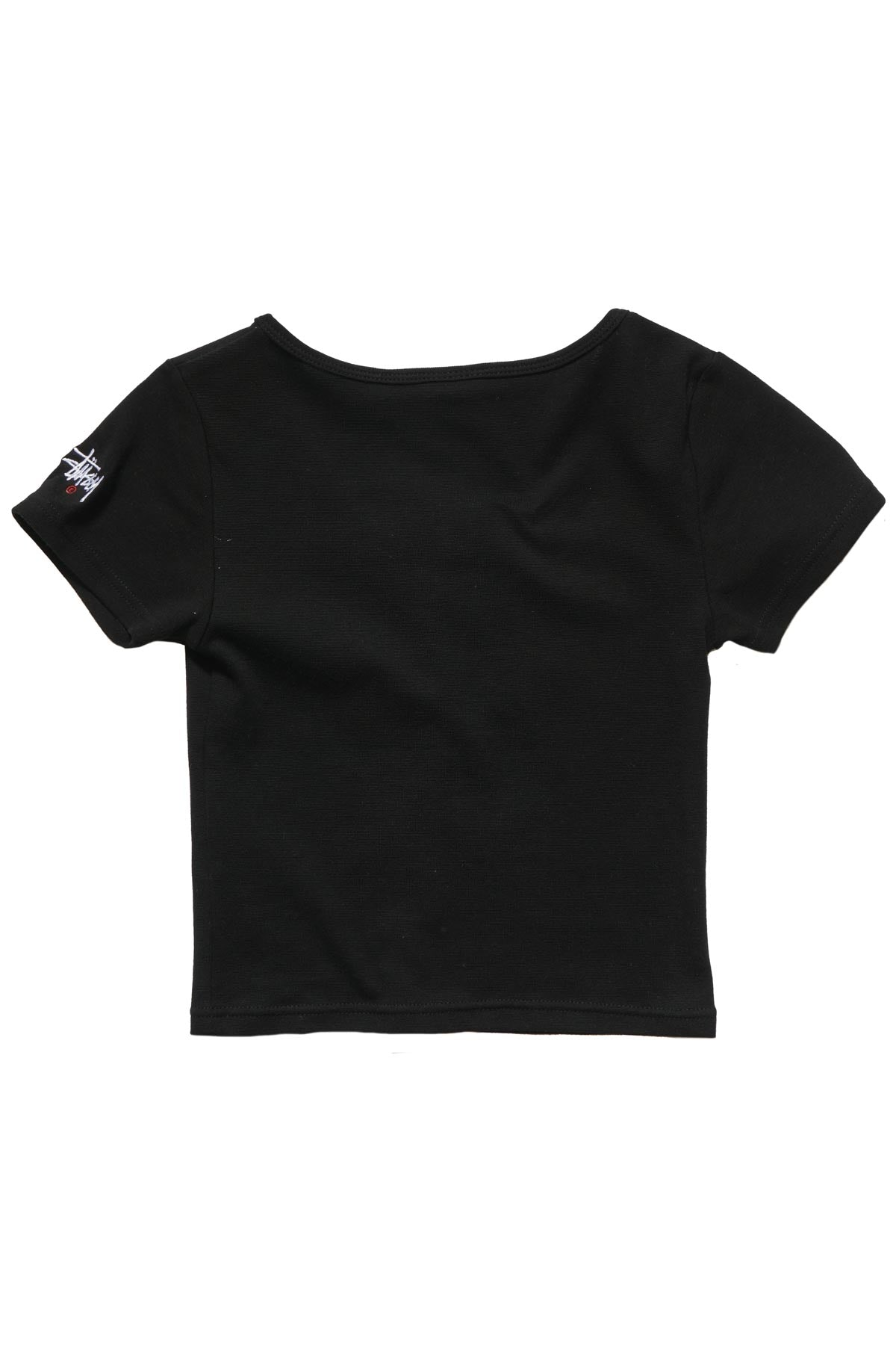Graffiti Rib Scoop Neck Tee