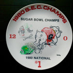 Rare 1980 Sugar Bowl Commemorative Plate (Limited Offer)