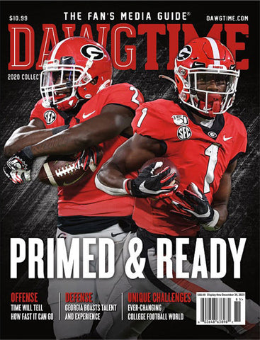 2020 Dawg Time Magazine The Fan's Media Guide