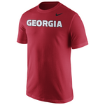 UGA Georgia Bulldogs Nike Georgia T-Shirt - Red
