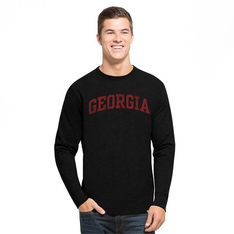 UGA Bulldogs 47 Brand GEORGIA Long Sleeve T-Shirt - Black