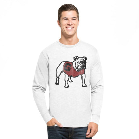 UGA Georgia Bulldogs 47 Brand Long Sleeve T-Shirt - White