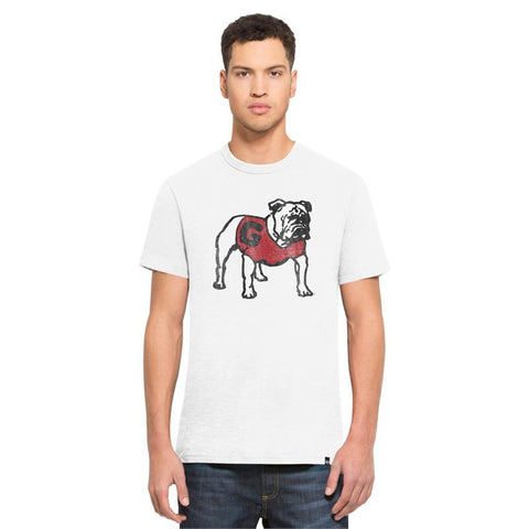 UGA Georgia Bulldogs 47 Brand Standing Dog T-shirt - White