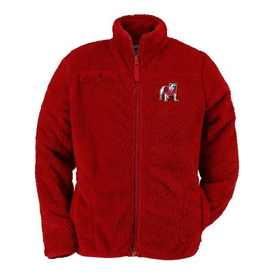 Georgia Bulldogs Toddler Fuzzy Full-Zip Jacket