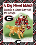 UGA Dog Named Munson Dawgs Children's Book