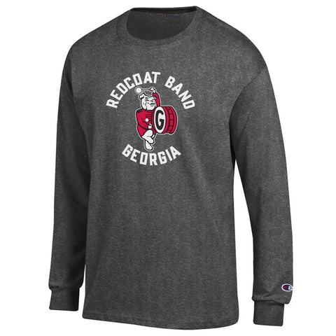 UGA Redcoat Band Champion Long Sleeve - Charcoal (ONLY 2X & 3X remaining)