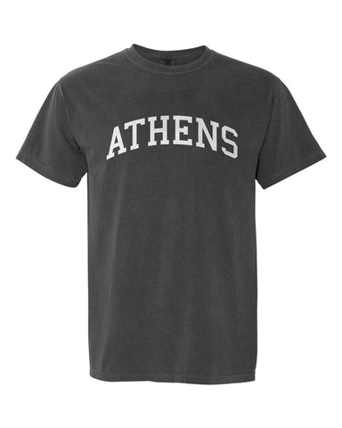 Athens, Georgia Comfort Colors T-Shirt - Pepper