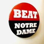 UGA Georgia Bulldogs Beat Notre Dame Button September 21, 2019