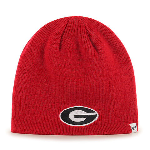 UGA 47 Brand Oval G Knit Beanie - Red