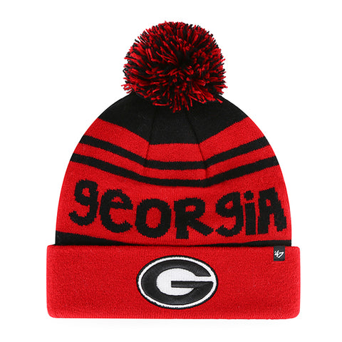 UGA Georgia Bulldogs 47 Brand Youth Winter Beanie