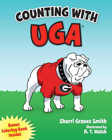 UGA Georgia Bulldogs Counting With Uga Children's Book