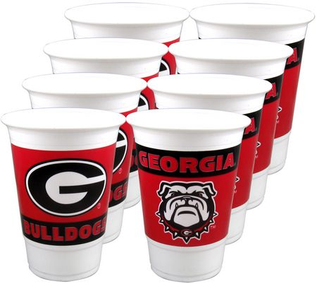 UGA Georgia Bulldogs Tailgate Party Cups
