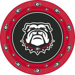 UGA Georgia Bulldogs Paper Tailgate Party Plates