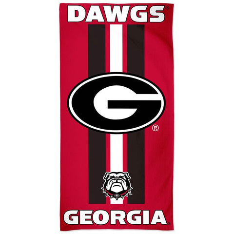 UGA Georgia Bulldogs Beach Bath Pool Towel