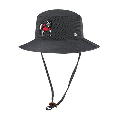 UGA Georgia Bulldogs 47 Brand Bucket Hat - Charcoal