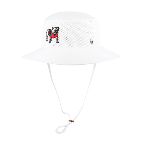 UGA Georgia Bulldogs 47 Brand Bucket Hat - White