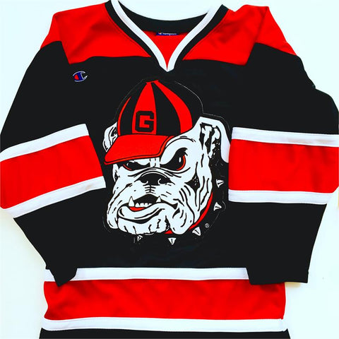 UGA Georgia Bulldogs Champion Youth Hockey Jersey