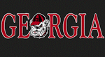 UGA Georgia & Old Bulldog Head Decal