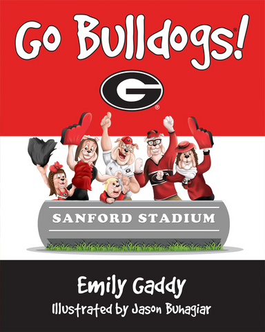 UGA Go Bulldogs Children's Book