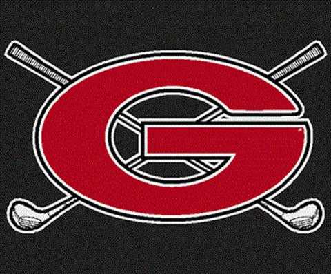 UGA Georgia Bulldogs Golf Decal - Red