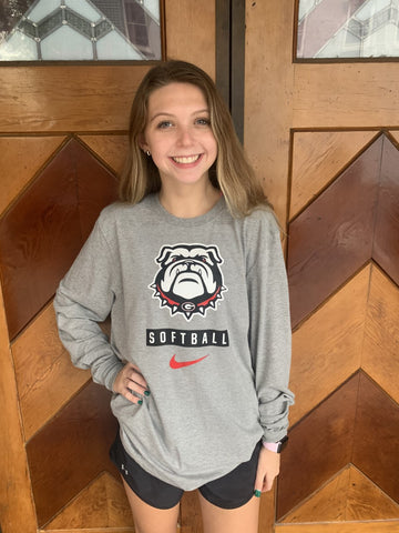 GEORGIA Nike Softball Long Sleeve T-Shirt