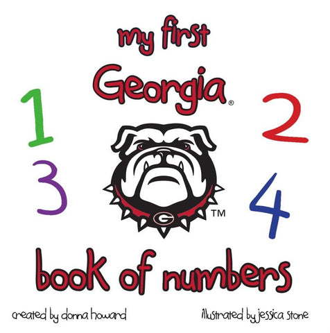 UGA My First Georgia Book Of Numbers Children's Book