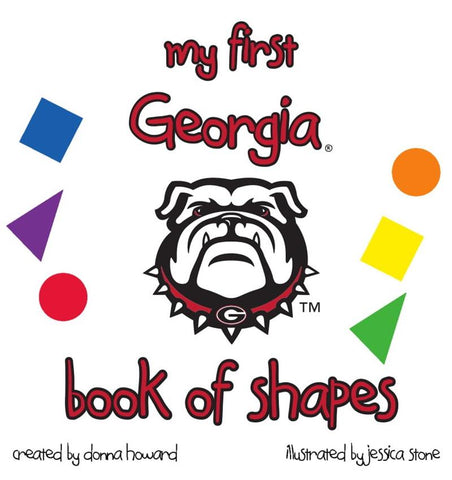 UGA My First Georgia Book Of Shapes Children's Book