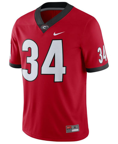 UGA Herschel Walker Nike  #34 Football Jersey (ONLY 2XL REMAINING)
