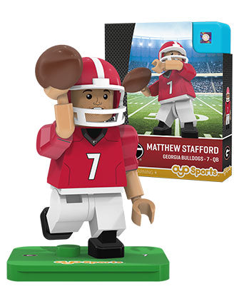 UGA Georgia Bulldogs Toy Matt Stafford Figure by Oyo Sports