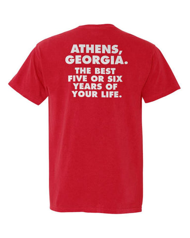 Athens, Georgia Best 5 or 6 Years Comfort Colors T-Shirt