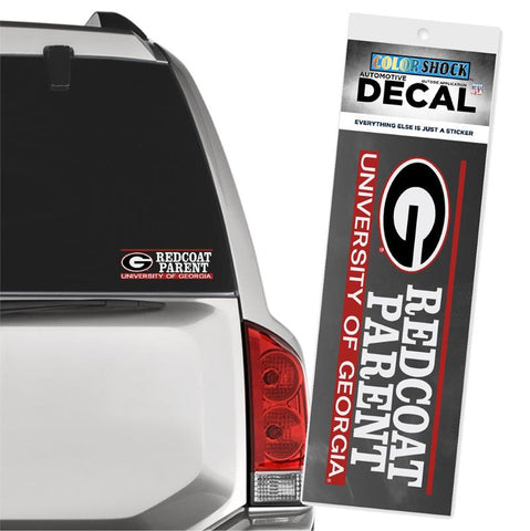 UGA Redcoat Band Parent Decal