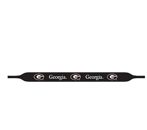 UGA Georgia Bulldogs Original Size Croakies - Black
