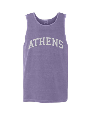 Athens, Georgia Comfort Colors Tank - Purple