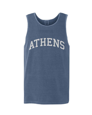 Athens, Georgia Comfort Colors Tank - Midnight Blue
