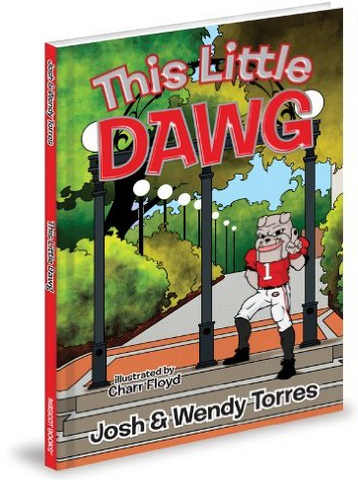 UGA Georgia Bulldogs This Little Dawg Children's Book