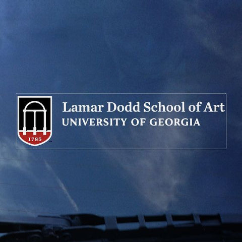 UGA Georgia Bulldogs Lamar Dodd School of Art Decal