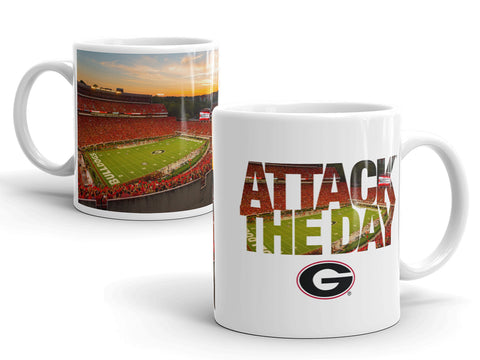 UGA Attack the Day Mug