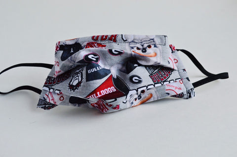 UGA Cloth Face Mask - Gray
