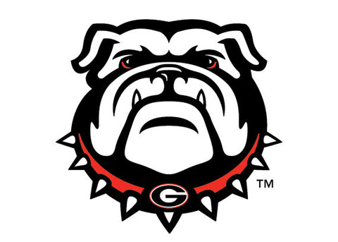 UGA Georgia Bulldogs Refrigerator Magnet - New Bulldog Head
