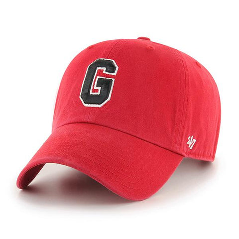 UGA Georgia Bulldogs 47 Brand Adjustable Block G Cap - Red