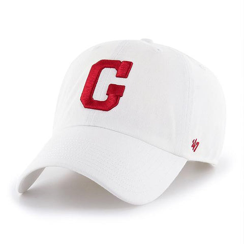 UGA Georgia Bulldogs 47 Brand Adjustable Block G Cap - White