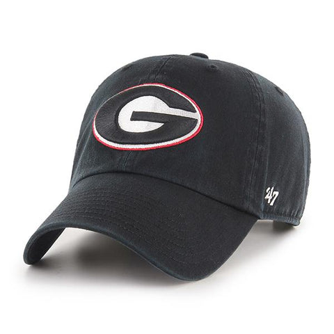 UGA Georgia Bulldogs 47 Brand Adjustable Oval G Cap - Black