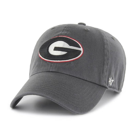 UGA Georgia Bulldogs 47 Brand Adjustable Oval G Cap - Charcoal