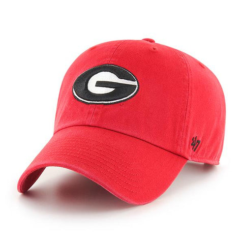 UGA Georgia Bulldogs 47 Brand Adjustable Oval G Cap - Red