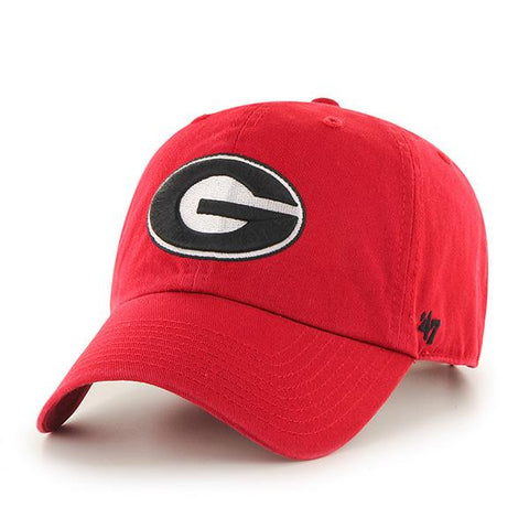 UGA Georgia Bulldogs 47 Brand Youth Adjustable Oval G Cap - Red