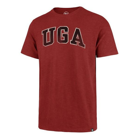 UGA Georgia Bulldogs 47 Brand Arched UGA T-Shirt - Red