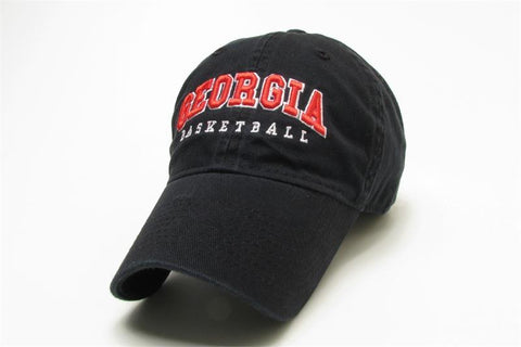 UGA Georgia Bulldogs Basketball Legacy Cap - Black