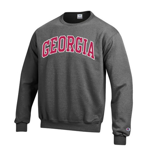 UGA GEORGIA Champion Sweatshirt - Charcoal